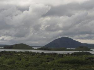 Monticles de vells volcans
